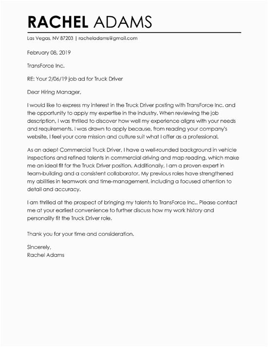 best cover letter format 2019
