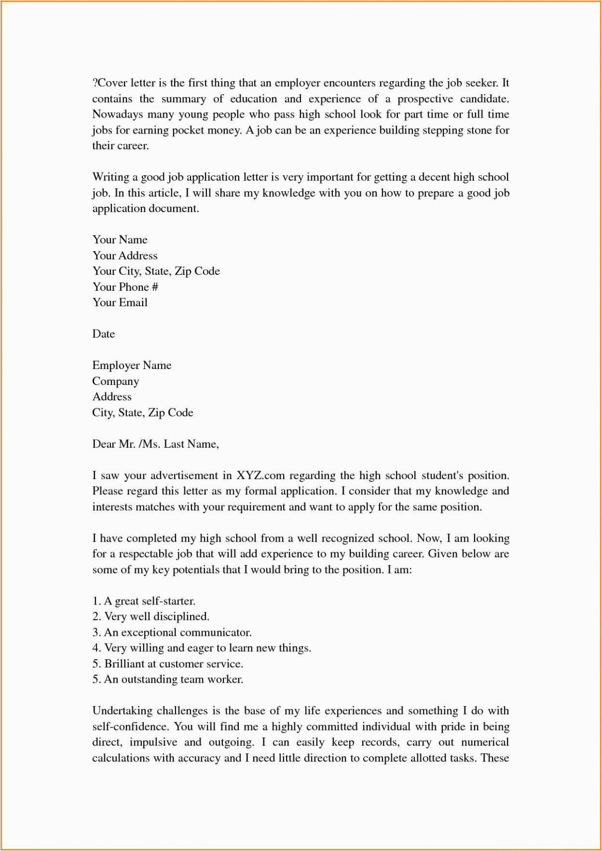 829 cover letter template high school understanding the background of cover letter template high school