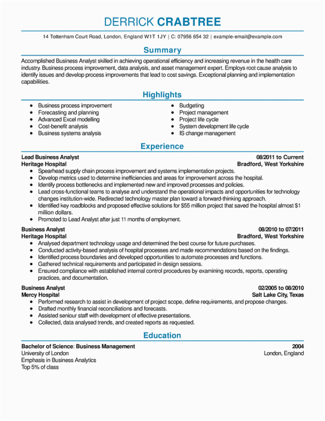 Sample Of A Well Written Resume Examples Well Written Resumes Resume Sample