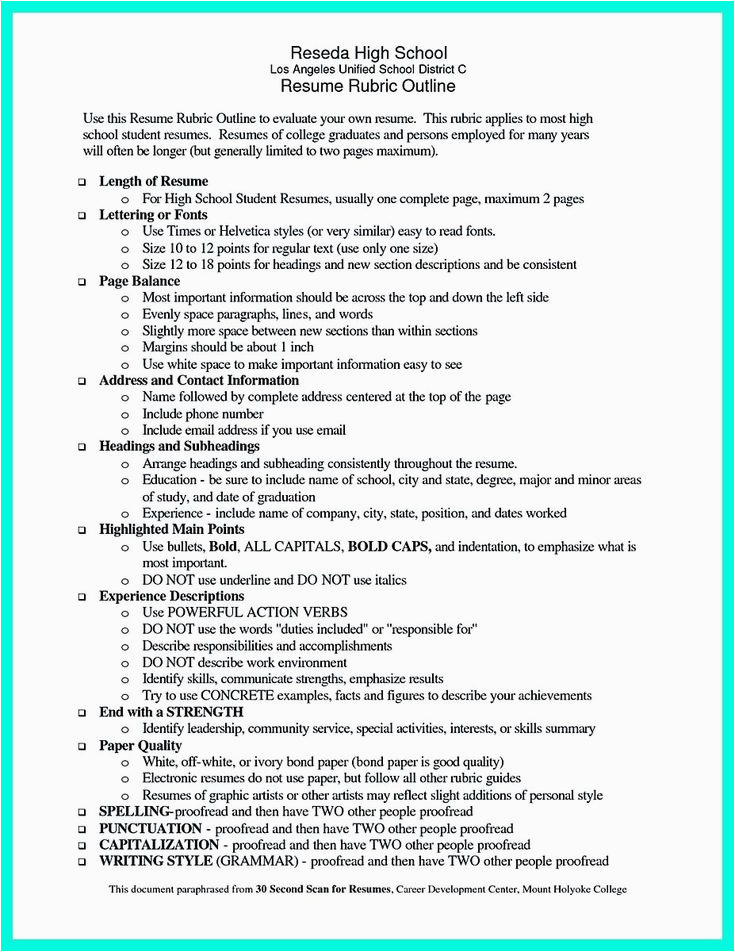 Sample Resume for College Graduate with Little Experience Cool Sample Of College Graduate Resume with No Experience