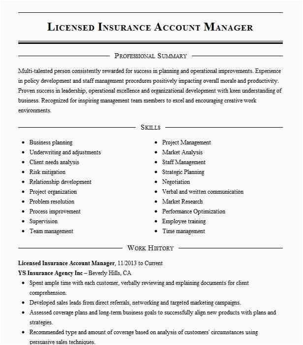licensed insurance account manager 84cbec9a25a c188eaac119ea0