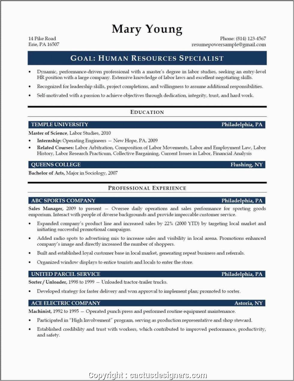 Sample Resume for Hr assistant Fresh Graduate Unique Sample Resume for Hr assistant Fresh Graduate Hr