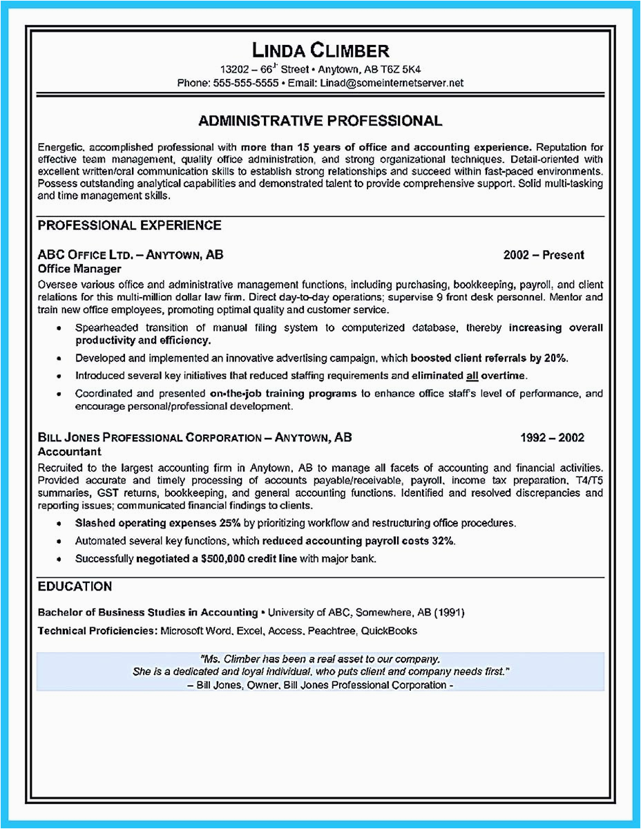 best administrative assistant resume sample to job soon