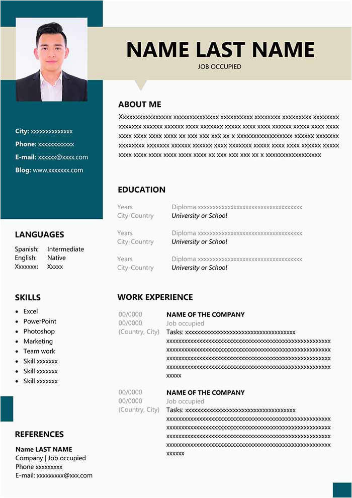 resume fresher