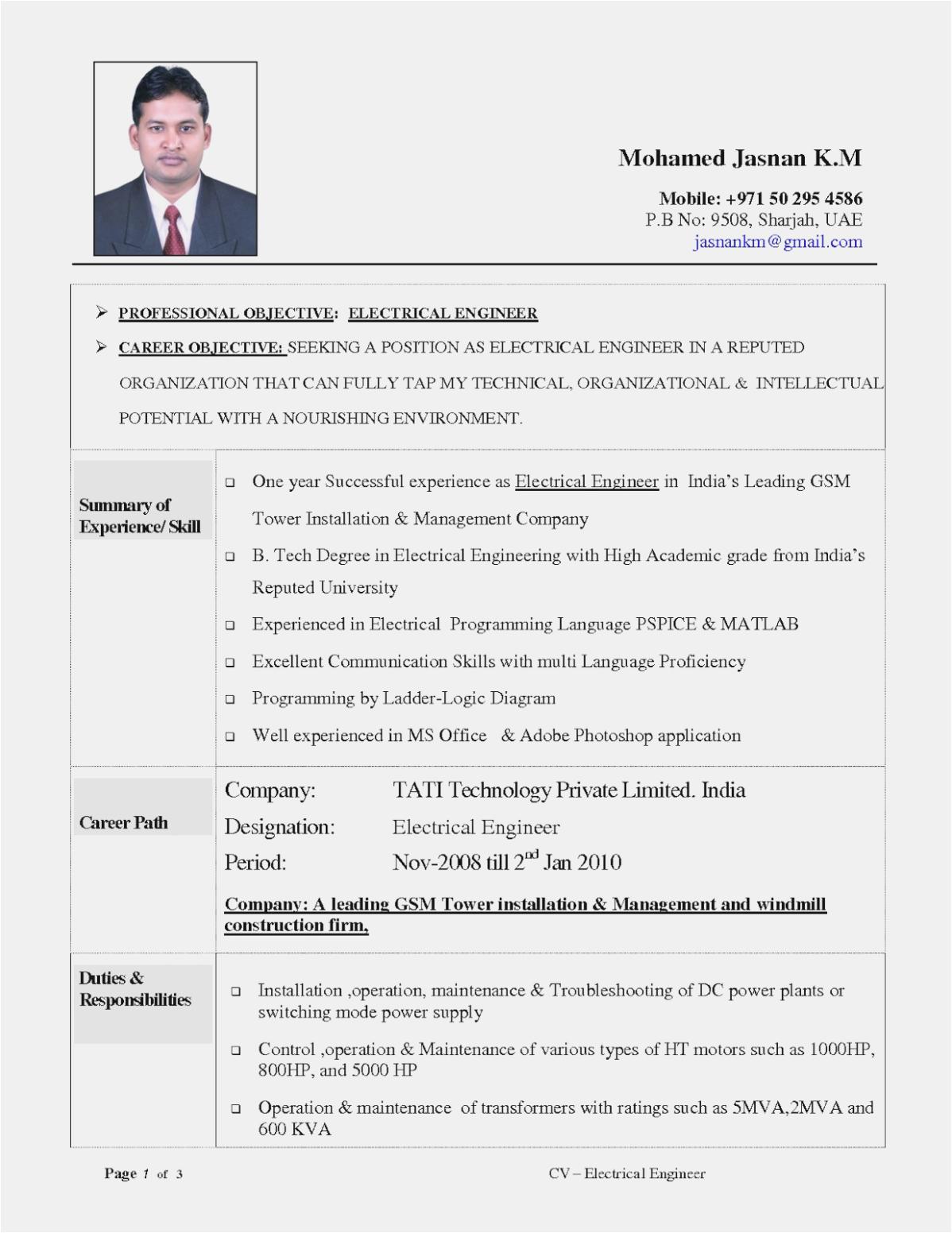 Sample Resume Of Marine Transportation Fresh Graduate How Will Marine Resume