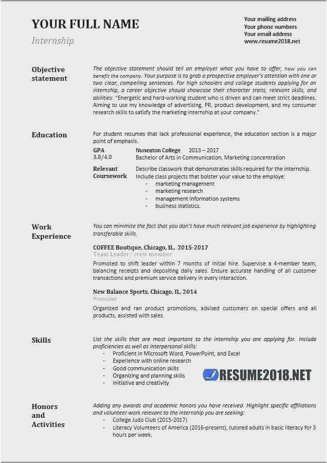 Sample Resume Relevant Skills and Experience Free 54 Relevant Experience Resume Model