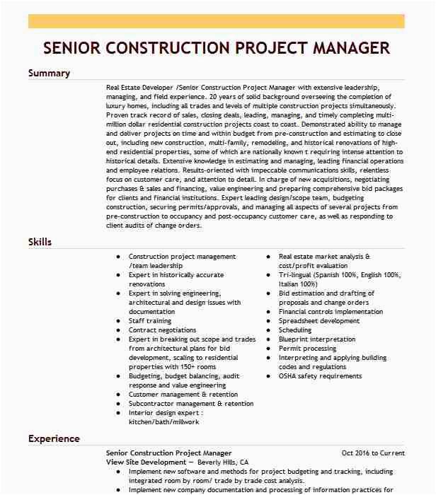 senior construction project manager f4b5c a8f dab74b