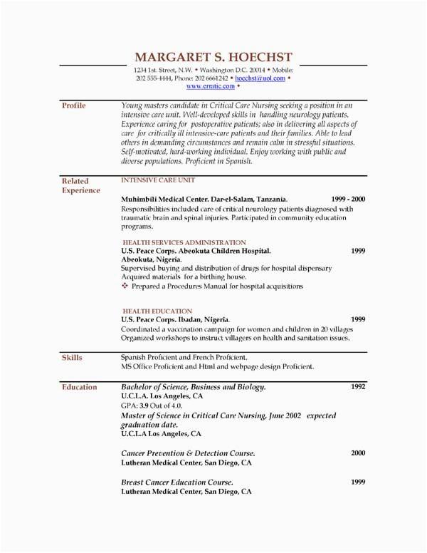 sap bi sample resume for 2 years