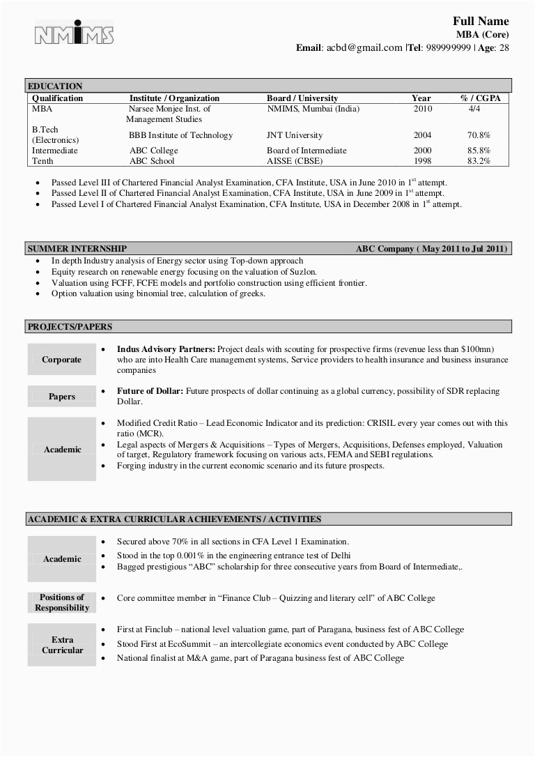 Electronics and Communication Engineering Resume Samples for Freshers Pdf Resume format for Freshers Engineers Ece Scribd India