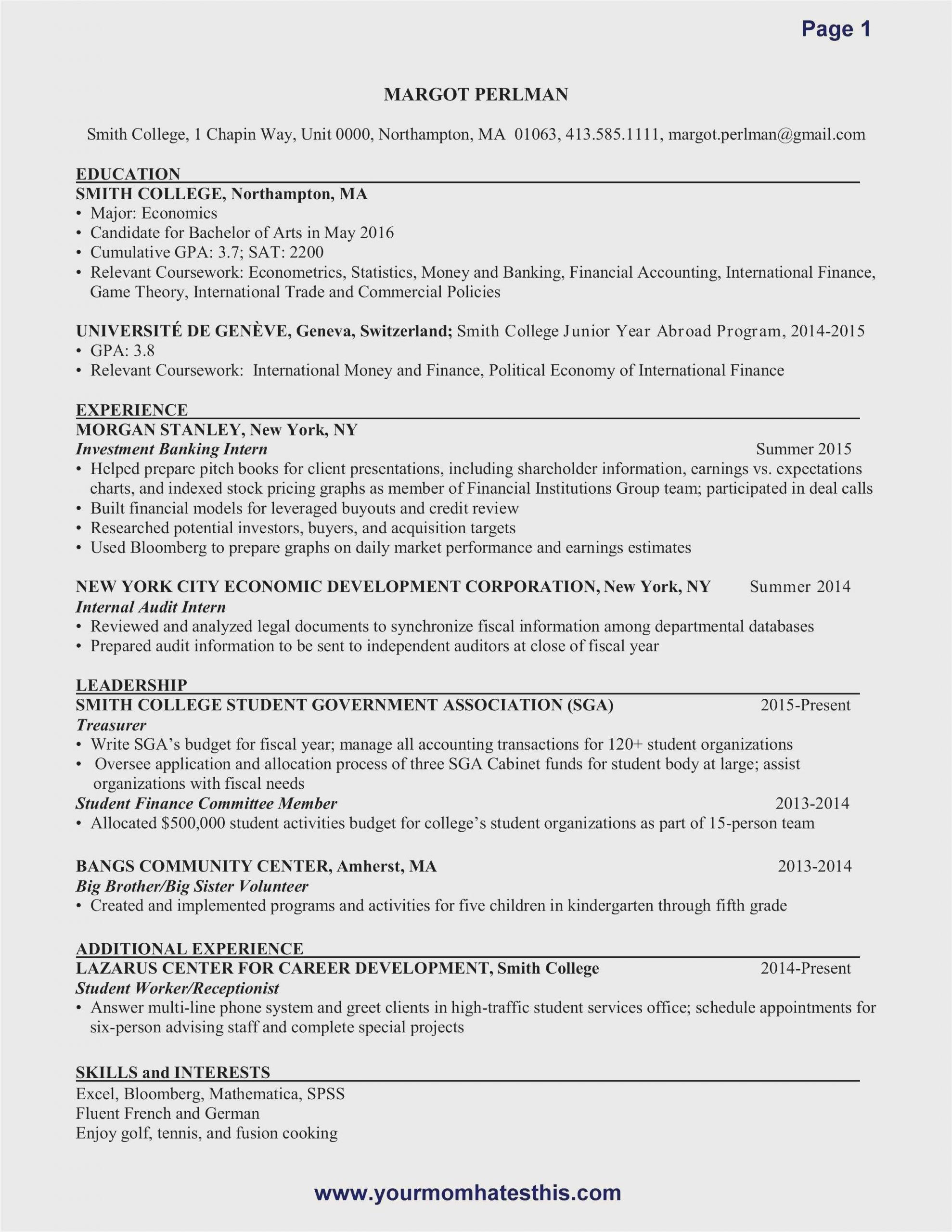 Entry Level Resume Samples Free Download Free Download 59 Resume for Entry Level Examples