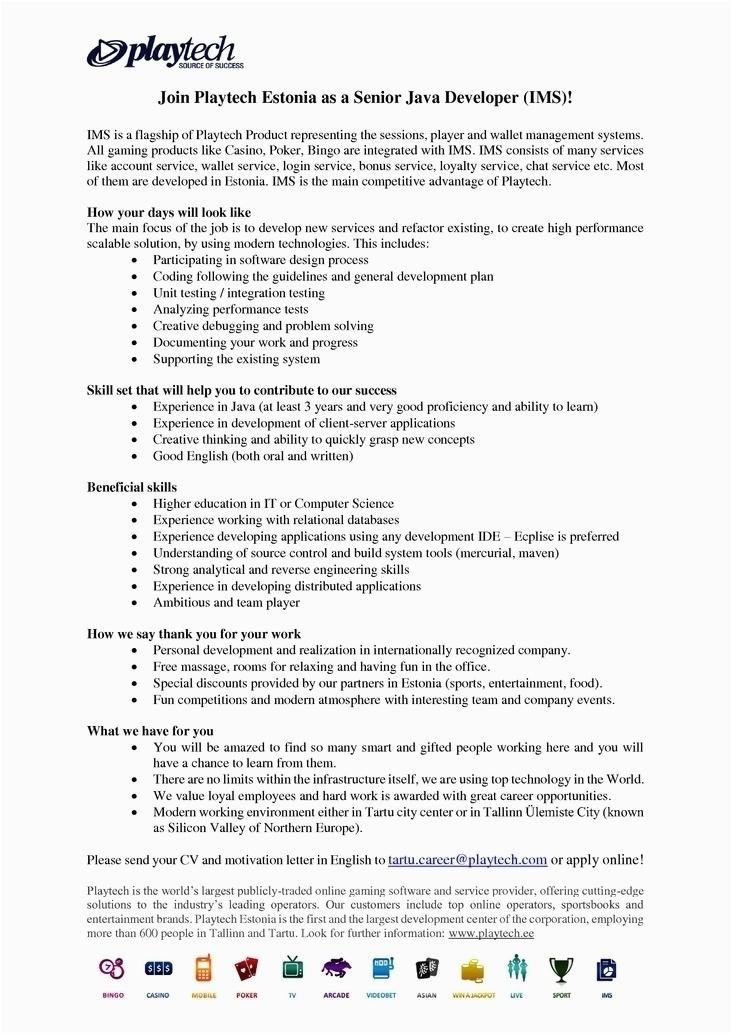 Java Sample Resume 4 Years Experience Java Developer Resume 4 Years Experience