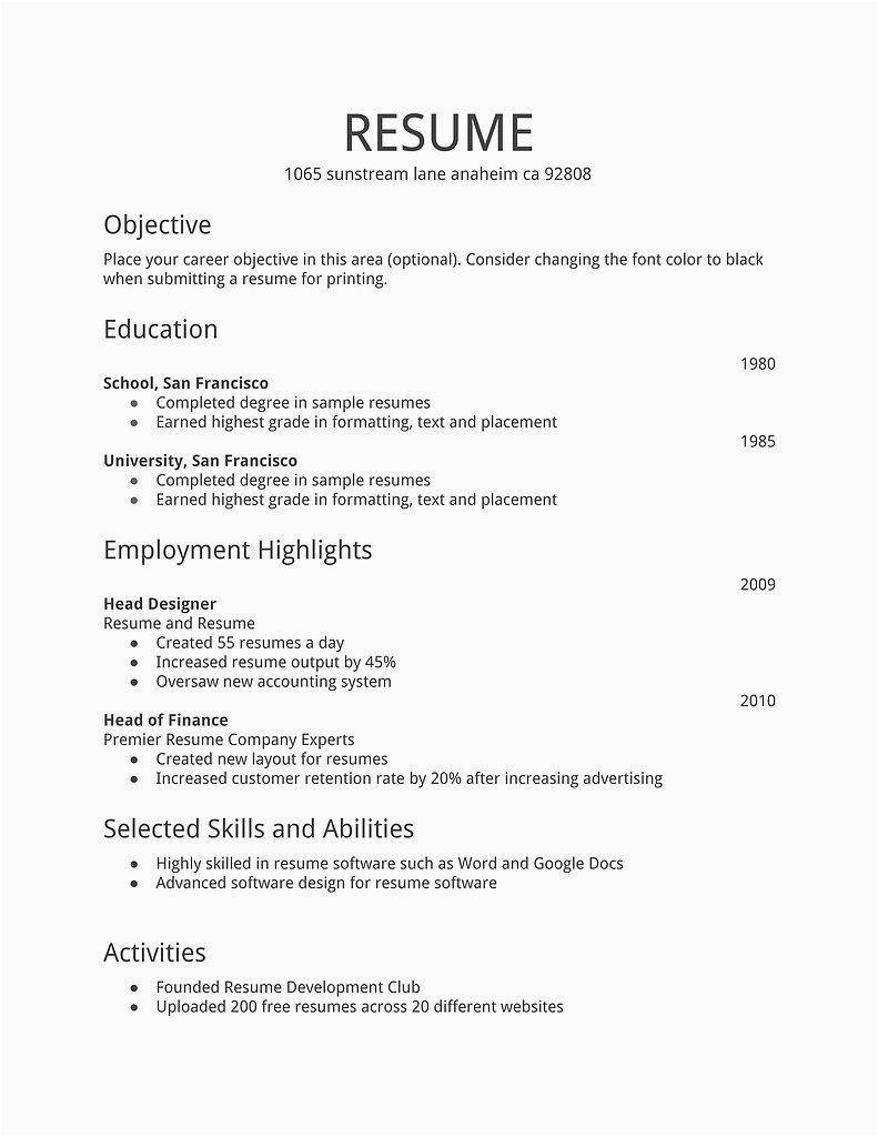 job application first time job seeker