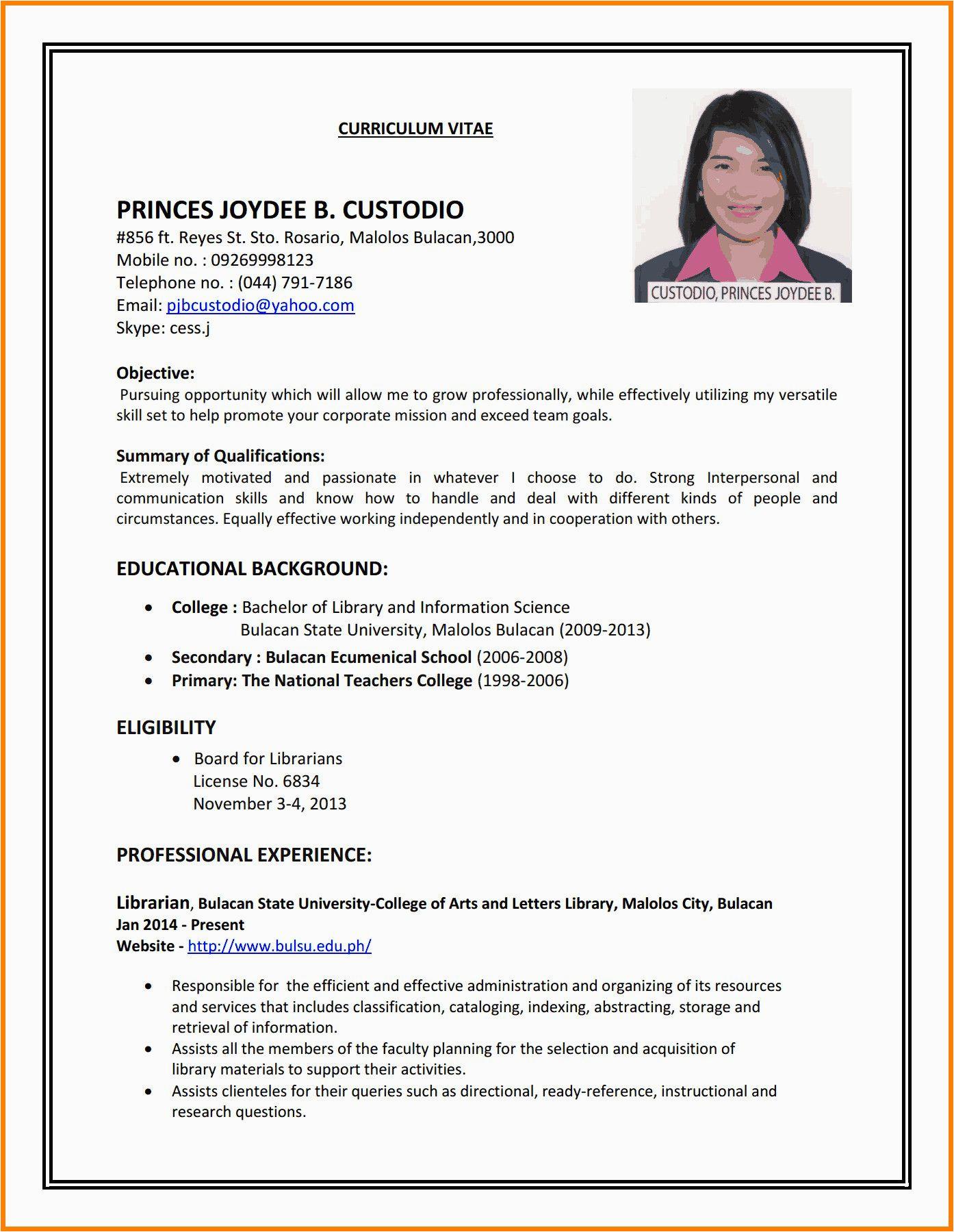 job seeker beginner job application