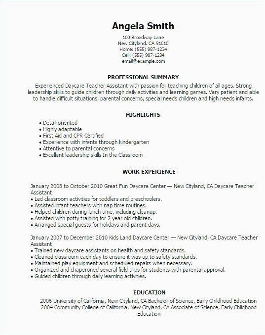 sample resume for assistant teacher in preschools of √ 26 preschool teacher assistant job description resume