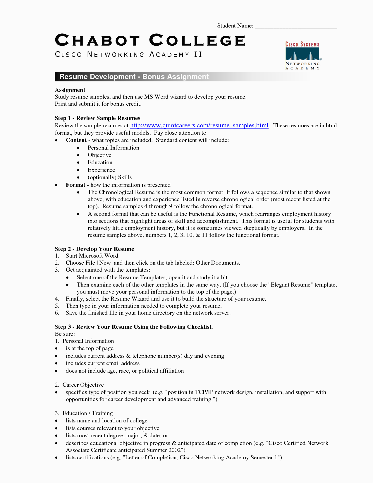 college student resume template microsoft word 4655