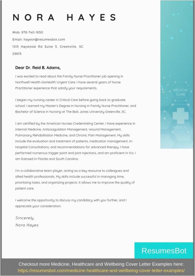 Sample Cover Letter for Resume Nurse Practitioner Medical Practitioner Cover Letter Samples & Templates Download