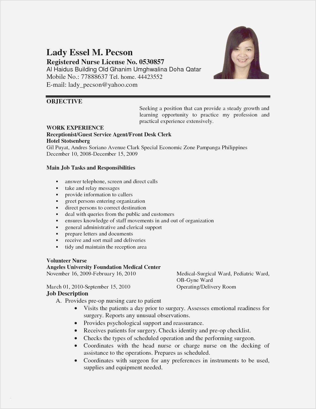 Sample Of Resume Letter for Applying A Job Download New Sample Resume Letter for Job Lettersample