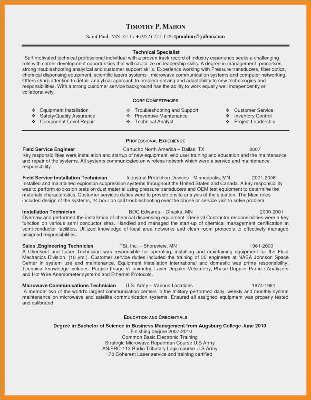 12 13 core petencies on resume examples