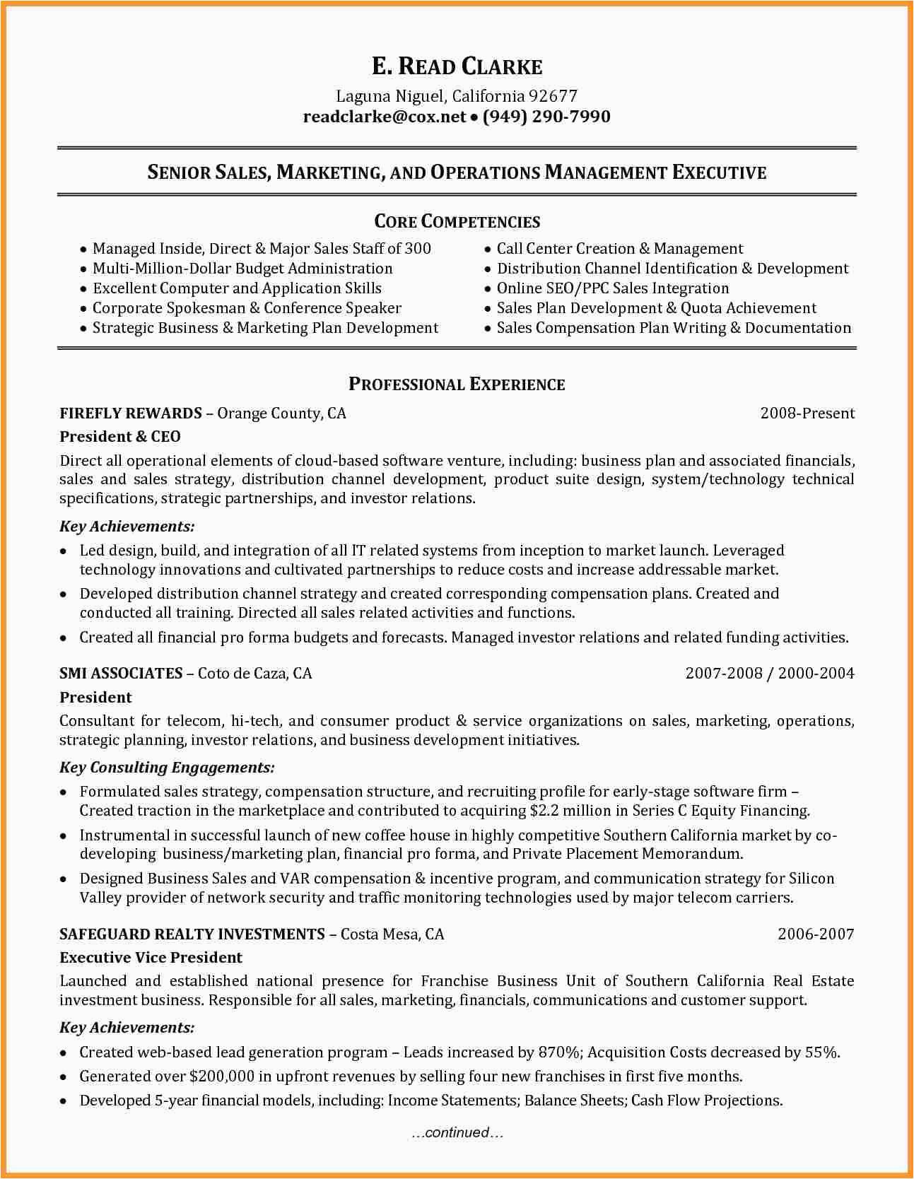petency based resume sample