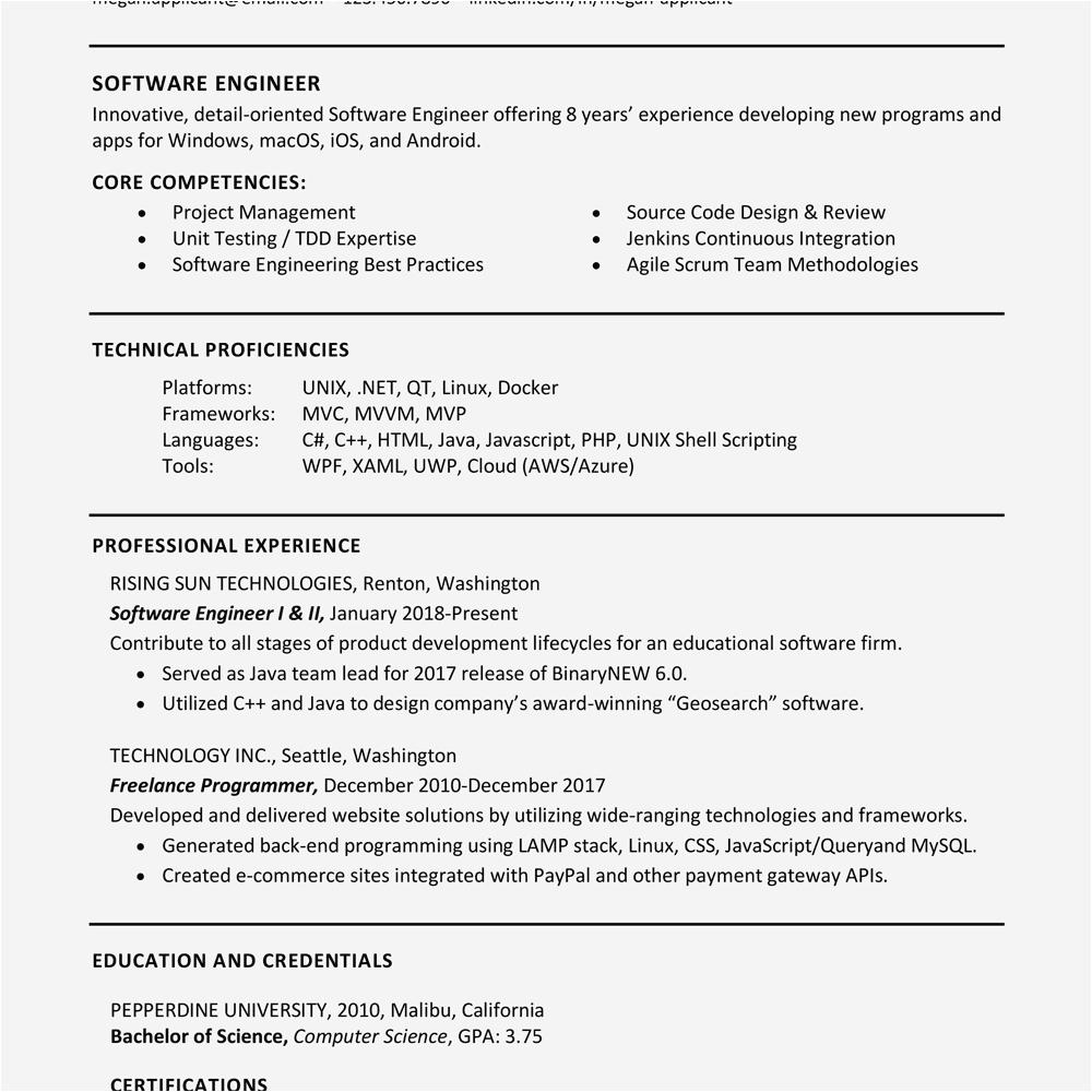 list of skills resume
