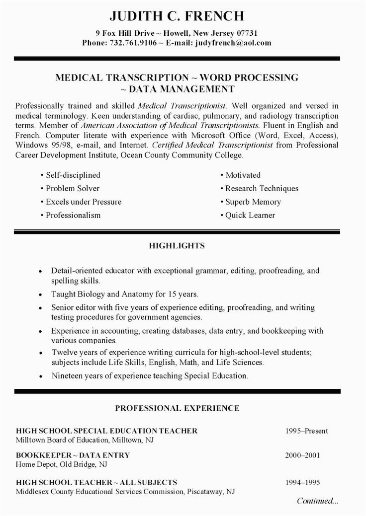 Sample Of Special Skills and Interest In Resume Special Skills Acting Resume Inspirational Special Skills