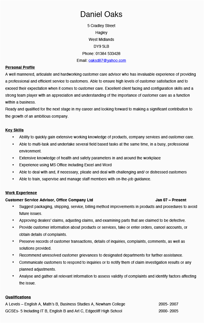 Sample Phrases and Suggestions for Resumes Customer Service Sample Resume Guest Representative