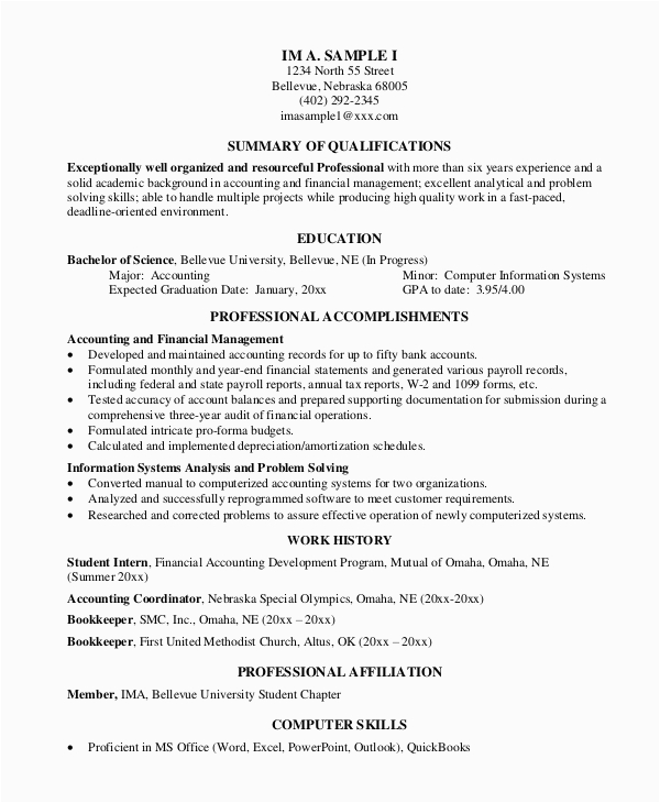 Sample Resume Objectives for Experienced It Professionals Free 8 Sample Professional Resume Templates In Pdf