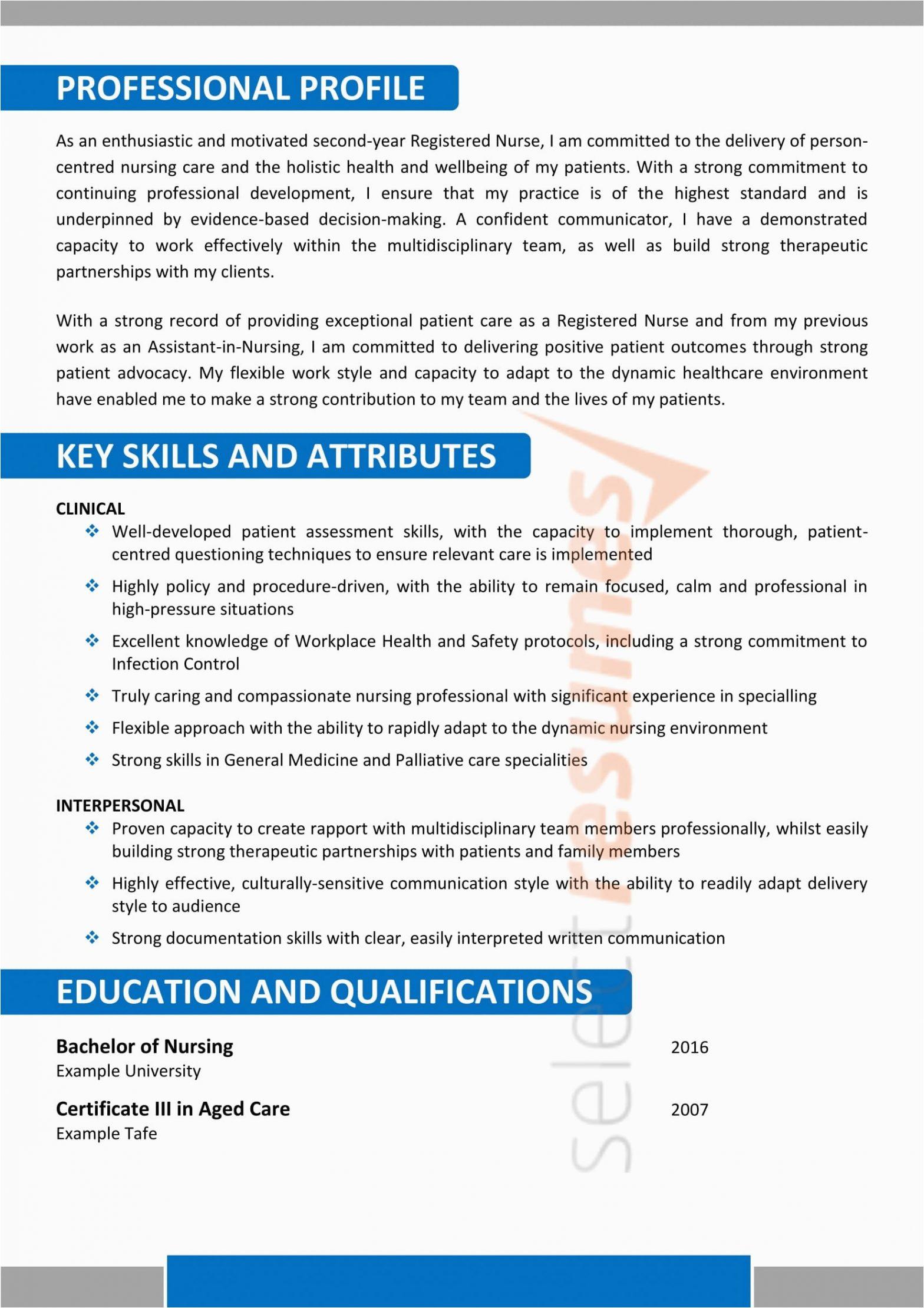 Sample Resume Of assistant In Nursing Aged Care Nursing Age Care Design 183 Select Resumes