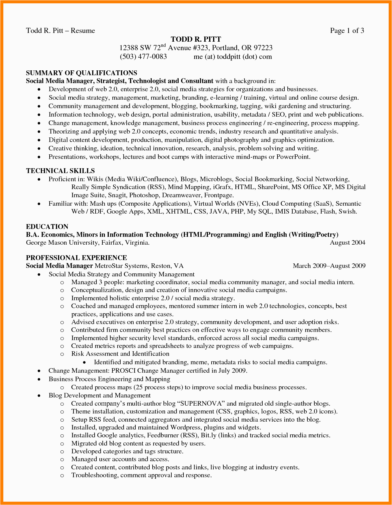 6 summary of qualification resume examples