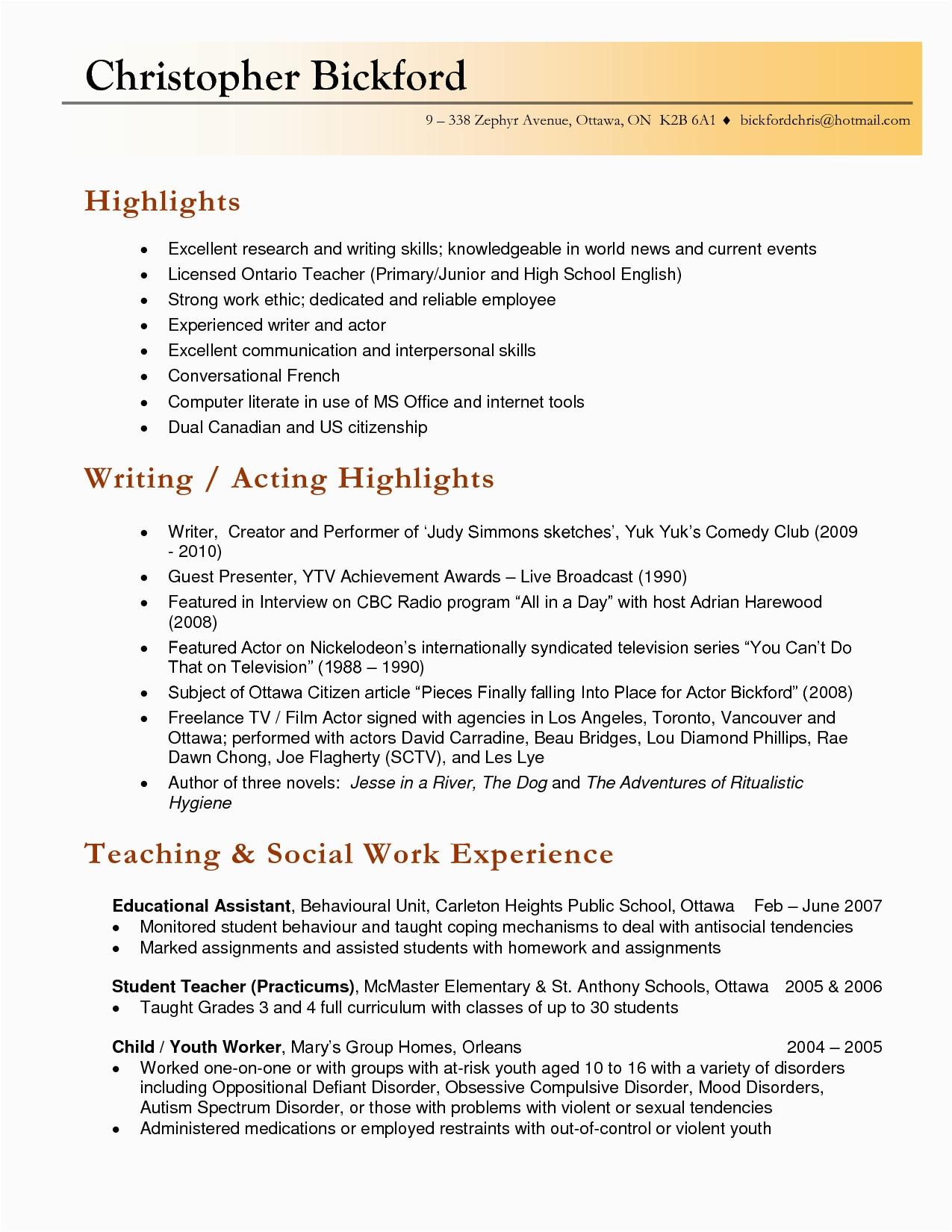 Sample Resume Teaching English as A Second Language Language Teacher Resume – Salescvfo