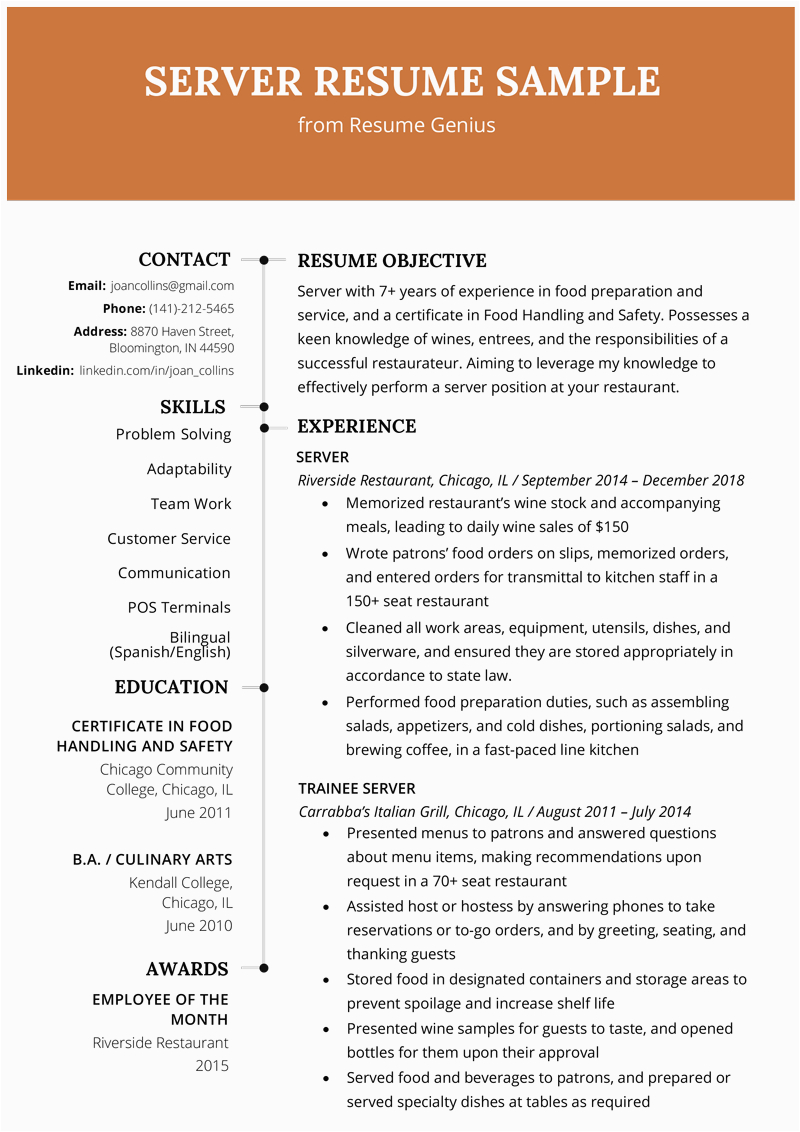 Sample Resume Template for Experienced Candidate Experienced Candidate Work Experience Resume Sample 2