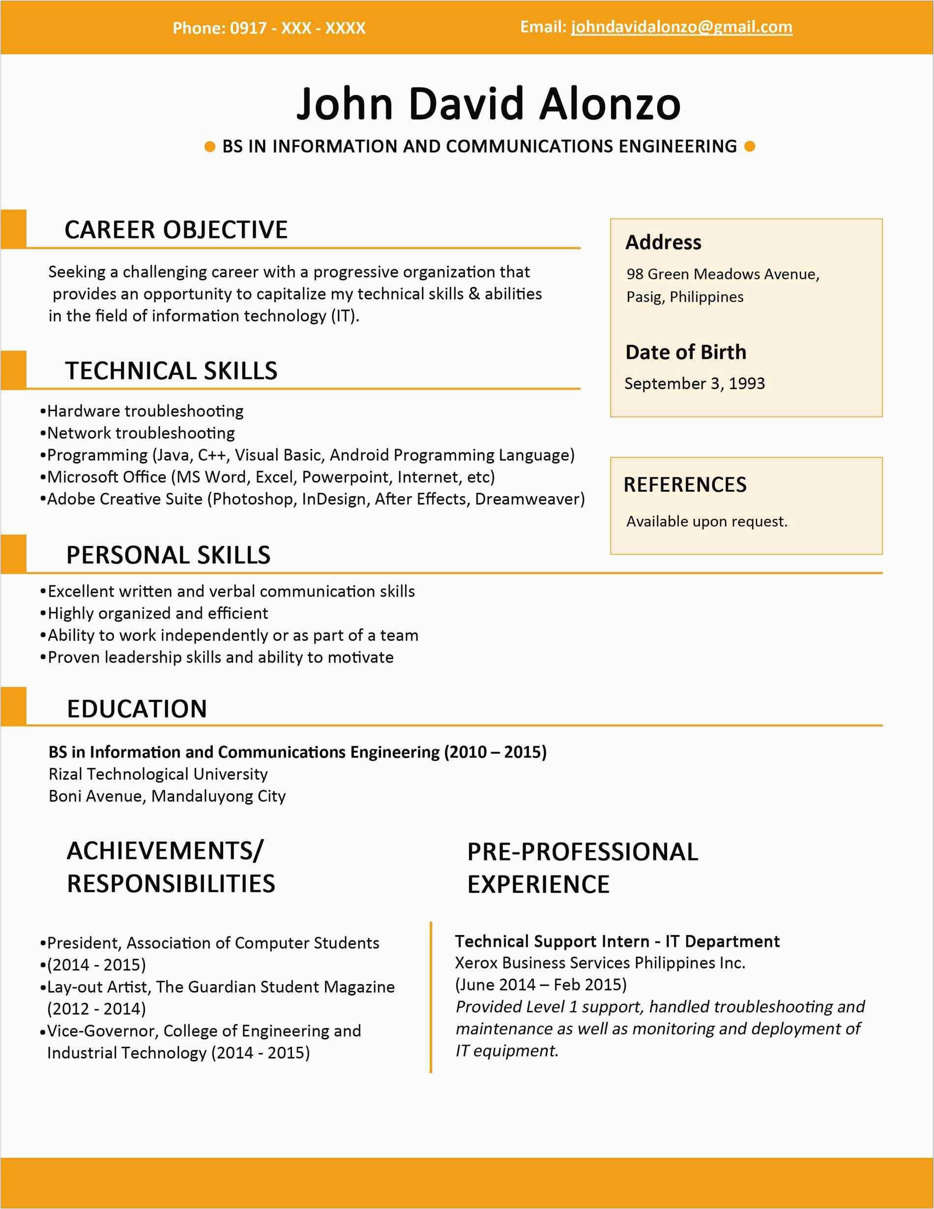 6 Months Experience Resume Sample In software Engineer 6 Months Experience Resume Sample In software Engineer