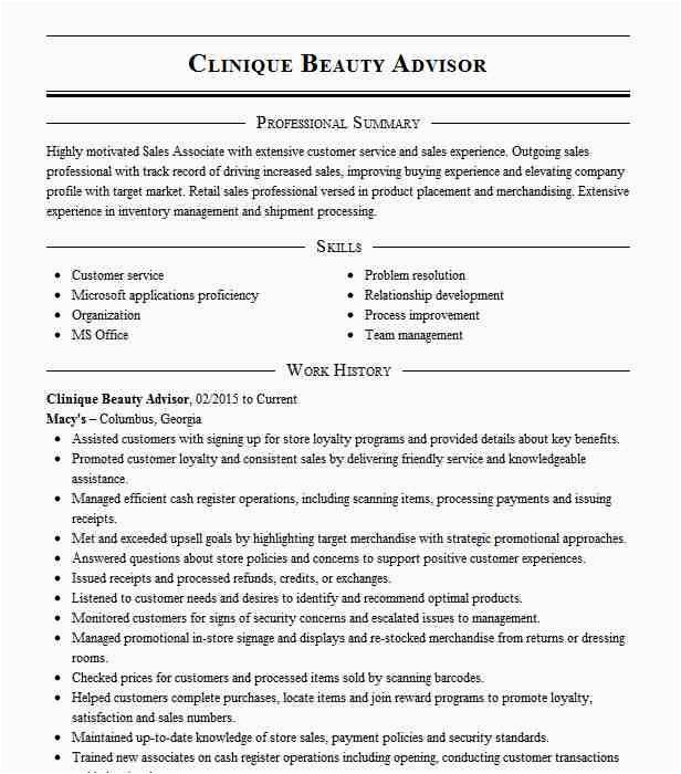 fragrance and beauty sales associate 121e c4ddc80a4a9e1a8ccdfea