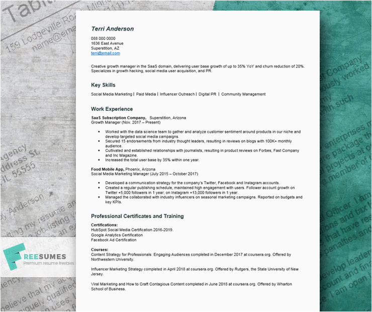 Resume with No College Degree Sample Resume with No College Degree Example Writing Tips