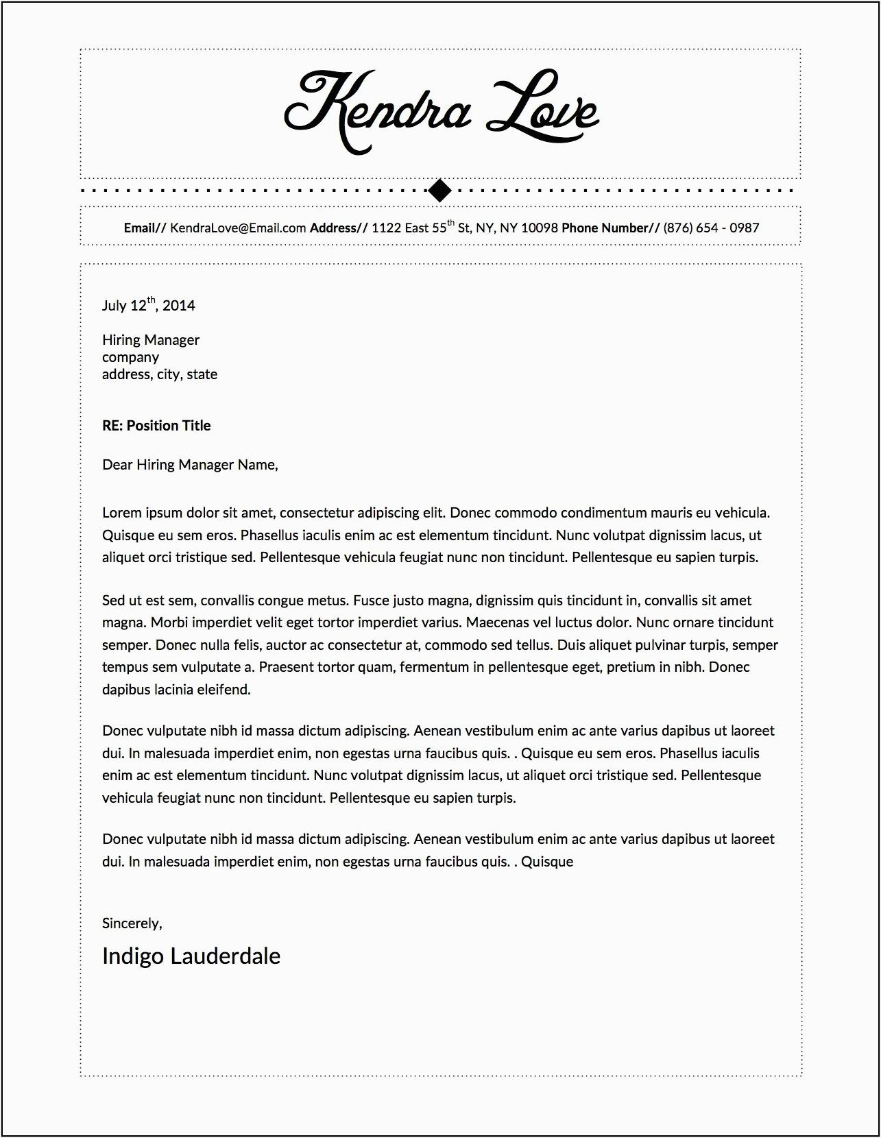 Sample Cover Letter for Resume Microsoft Word Resume Cover Letter Template Microsoft Word