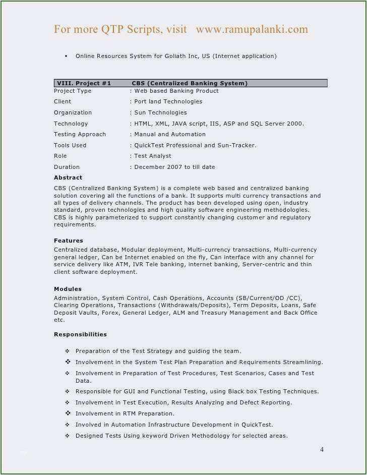 pl sql developer resume 3 years experience