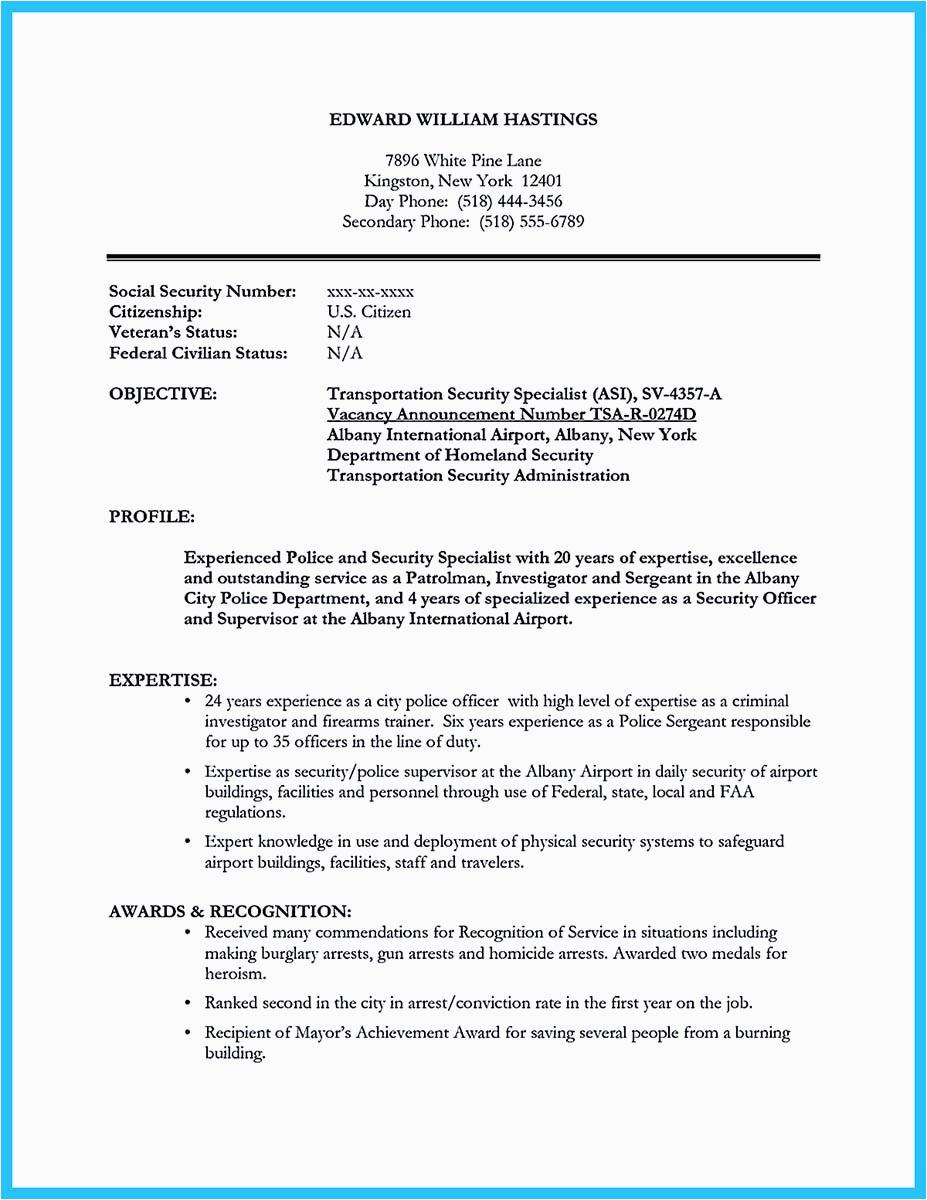 correctional officer cover letter