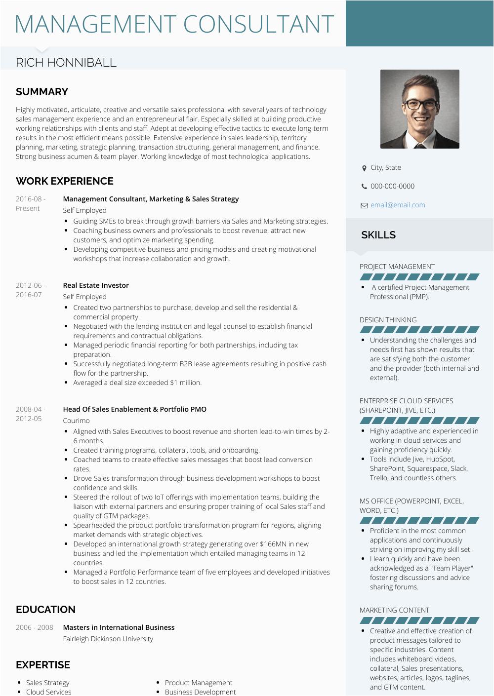 Sample Resume for Self Employed Business Owner Business Owner Self Employed Resume Examples Best Resume