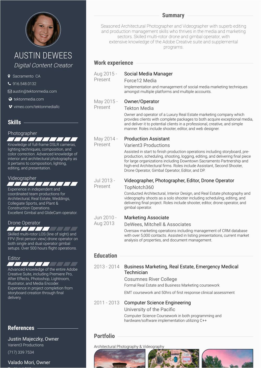 Sample Resume for social Media Manager social Media Manager Resume Samples and Templates
