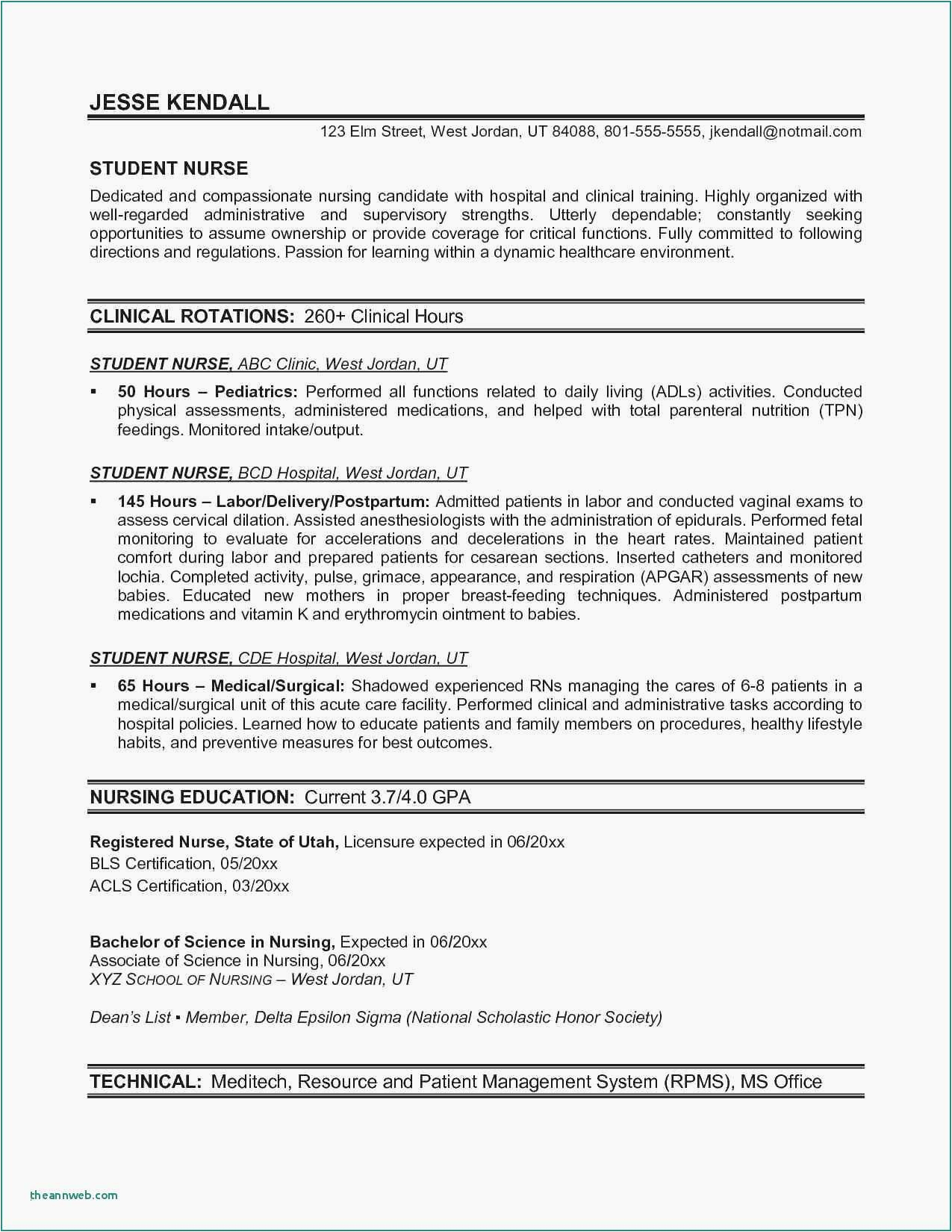 long term employment resume examples