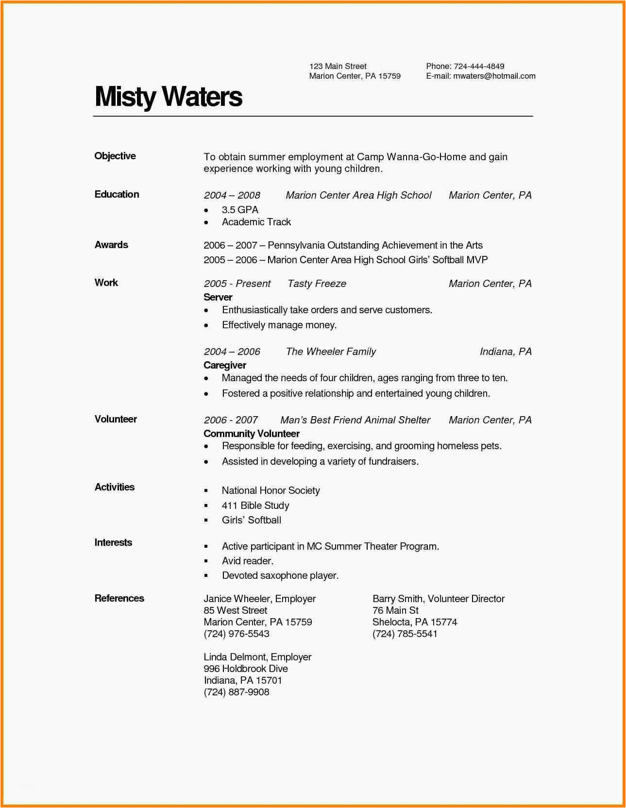 Sample Resume with associates Degree Listed 12 associate Degree Resume Sample Radaircars