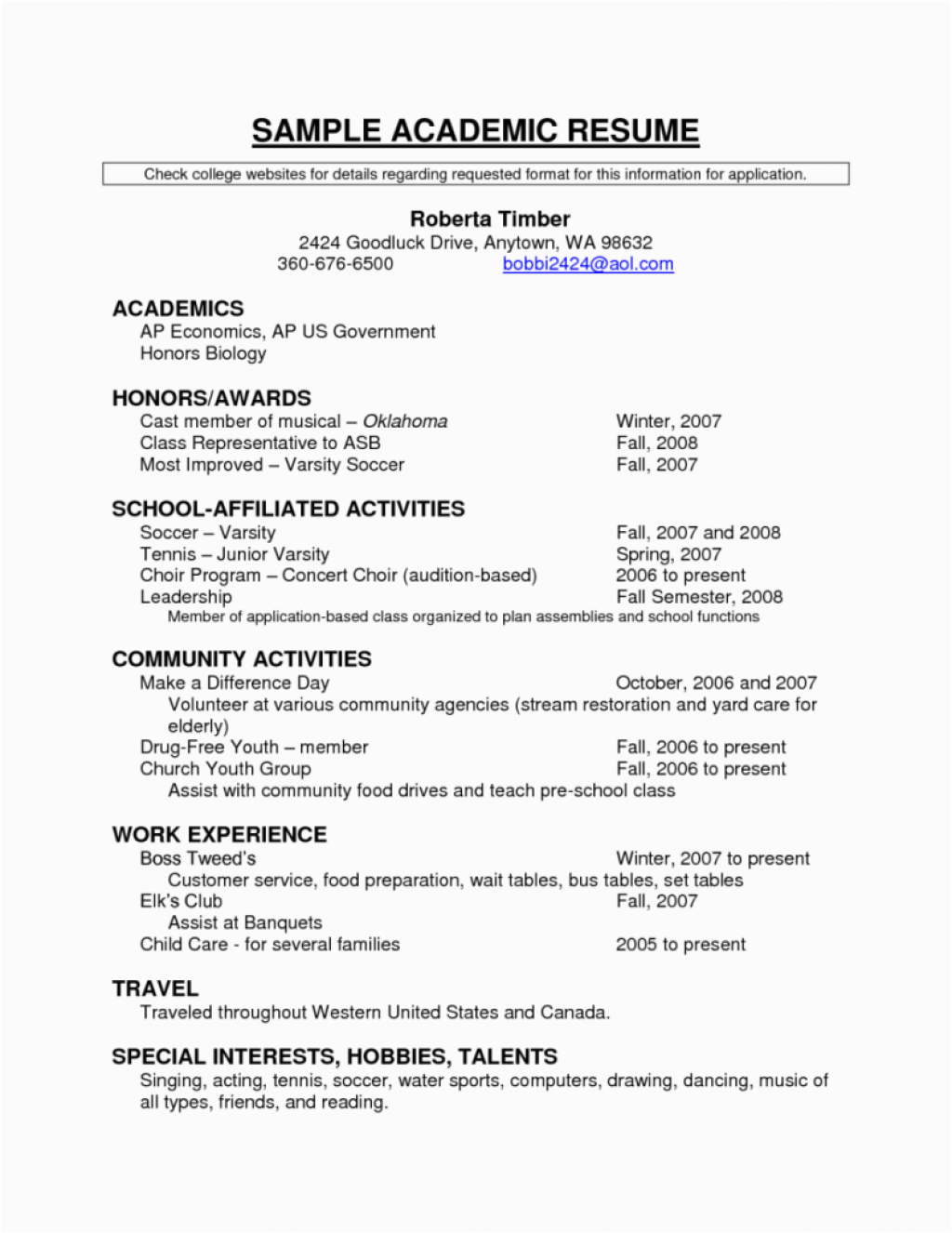 8 beautiful of resume awards section example for example