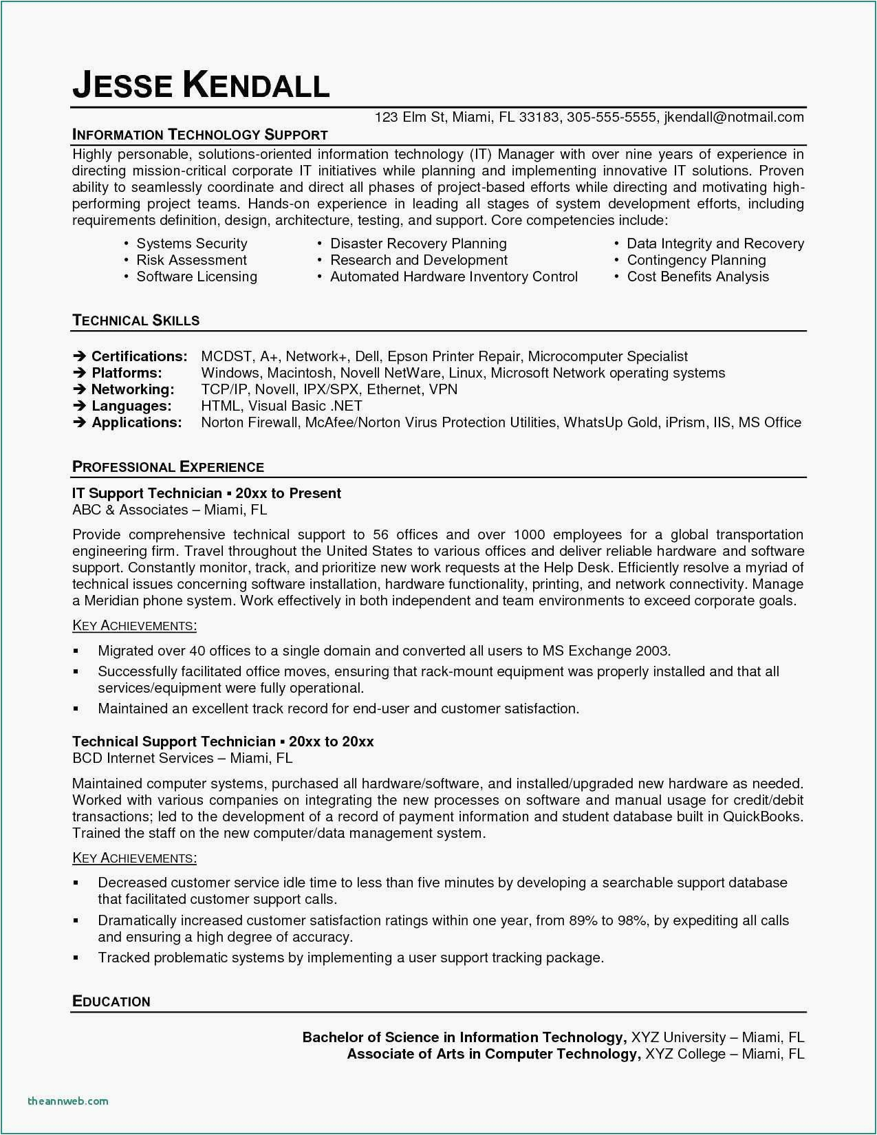 Sample Resume with Microsoft Certification Logo Operational Excellence Examples