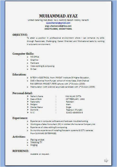 mba application resume sample having 2 year experience