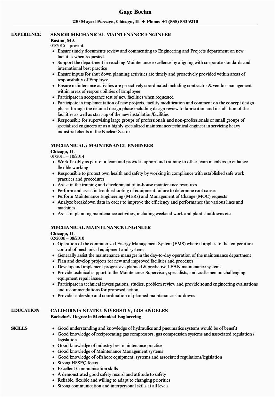 quality assurance engineer resume sample
