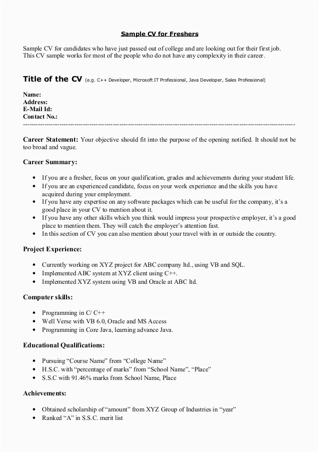 awards and achievements in resume for