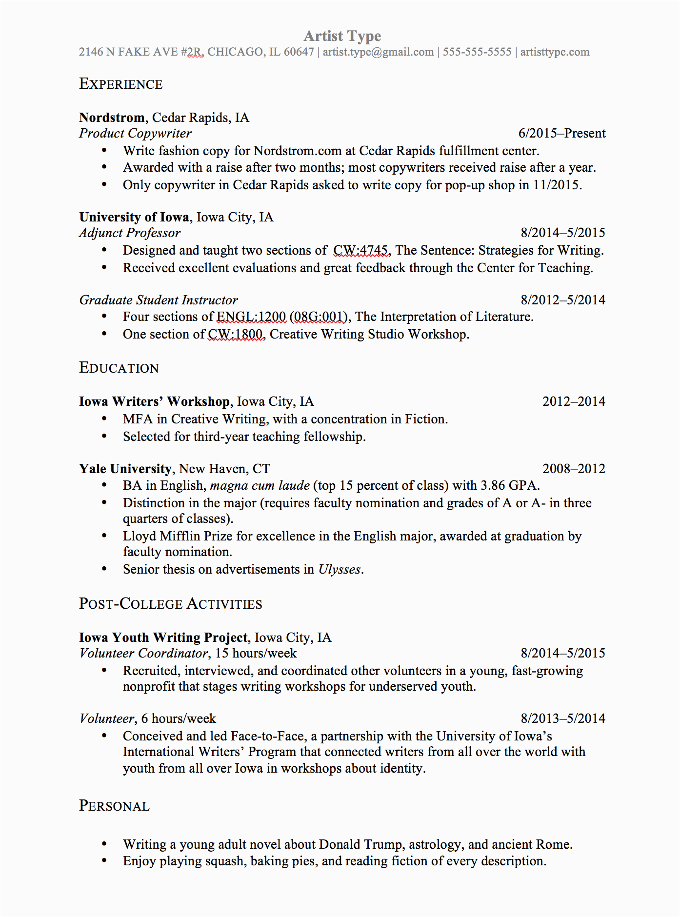 Sample Law School Resume for Admissions ⭐️résumé Template for Law School Admissions