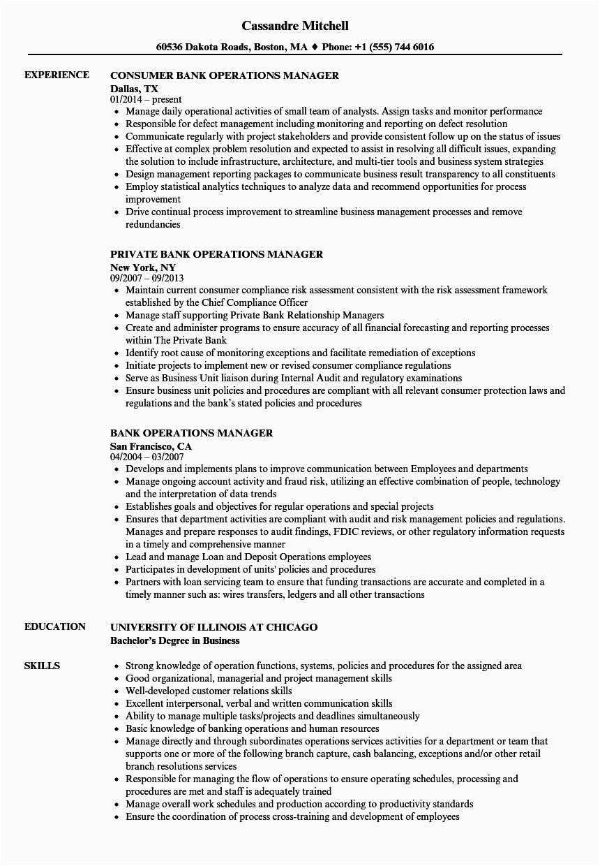 it operations manager job description