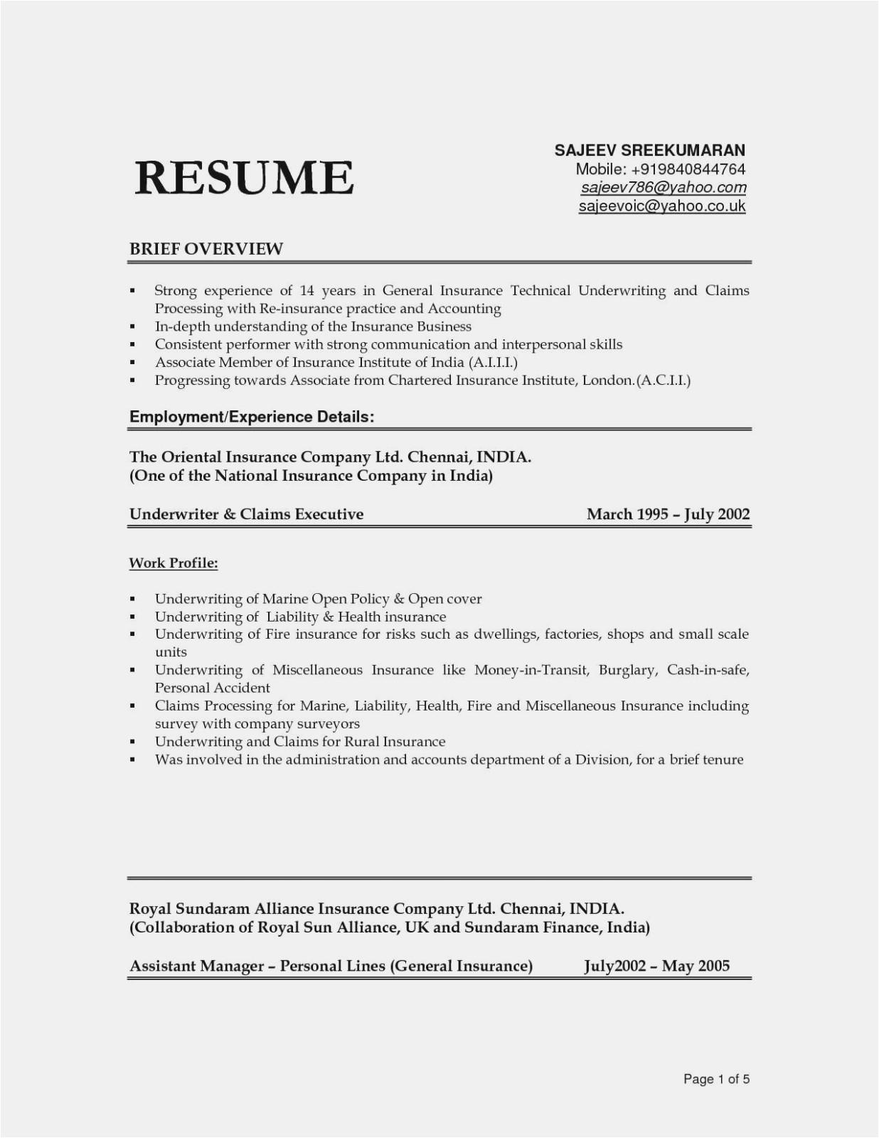 domestic helper resume sample