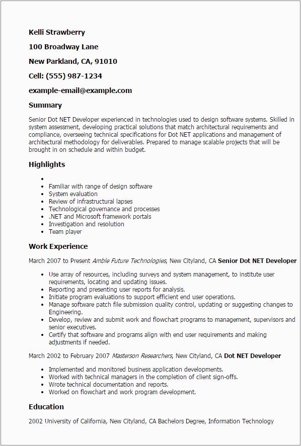 Sample Resume for Dot Net Developer Experience 3 Years Resume Template for 3 Years Experience 3 Gigantic